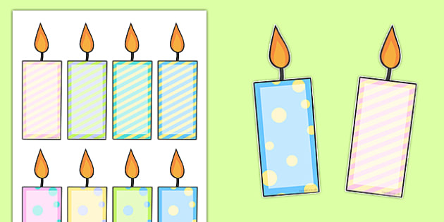 printable birthday candles for bulletin board ; T-M-812-Editable-Birthday-Candles_ver_1