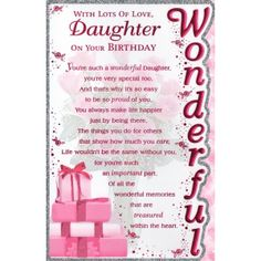 printable birthday cards for daughter free ; 2aa6f0236fa9bf9c490d0fdc9ac81475--daughter-birthday-your-birthday