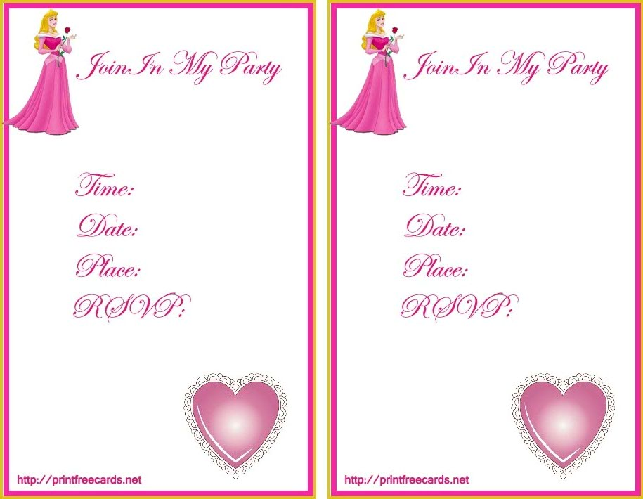 printable birthday cards for girls ; printable-princess-birthday-cards-for-girls-4