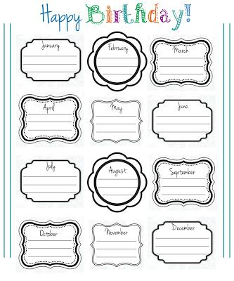 printable birthday chart for teachers ; 0b456bea57b91f4cb627e670988a93b1