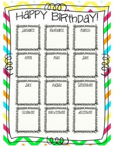 printable birthday chart for teachers ; a2069285d3f8d3369c746cd67e221b92--your-teacher-teacher-binder