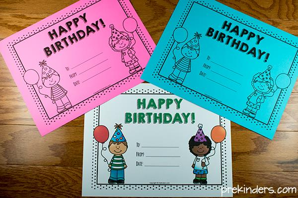 printable birthday chart for teachers ; birthday-certificates2