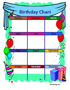 printable birthday chart for teachers ; birthdaychart4-thumb