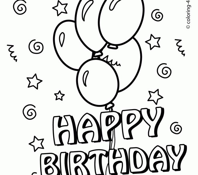 printable birthday coloring pages for kids ; Happy-Birthday-Line-Vintage-Birthday-Coloring-Pages