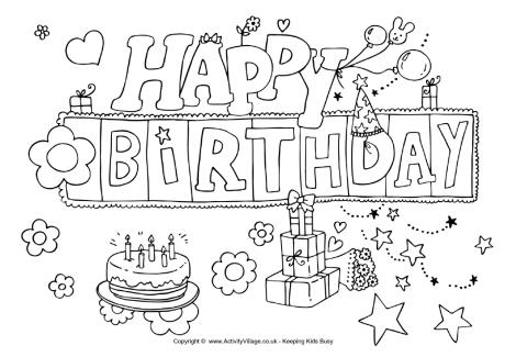 printable birthday coloring pages for kids ; birthday-cards-coloring-pages-happy-birthday-colouring-page
