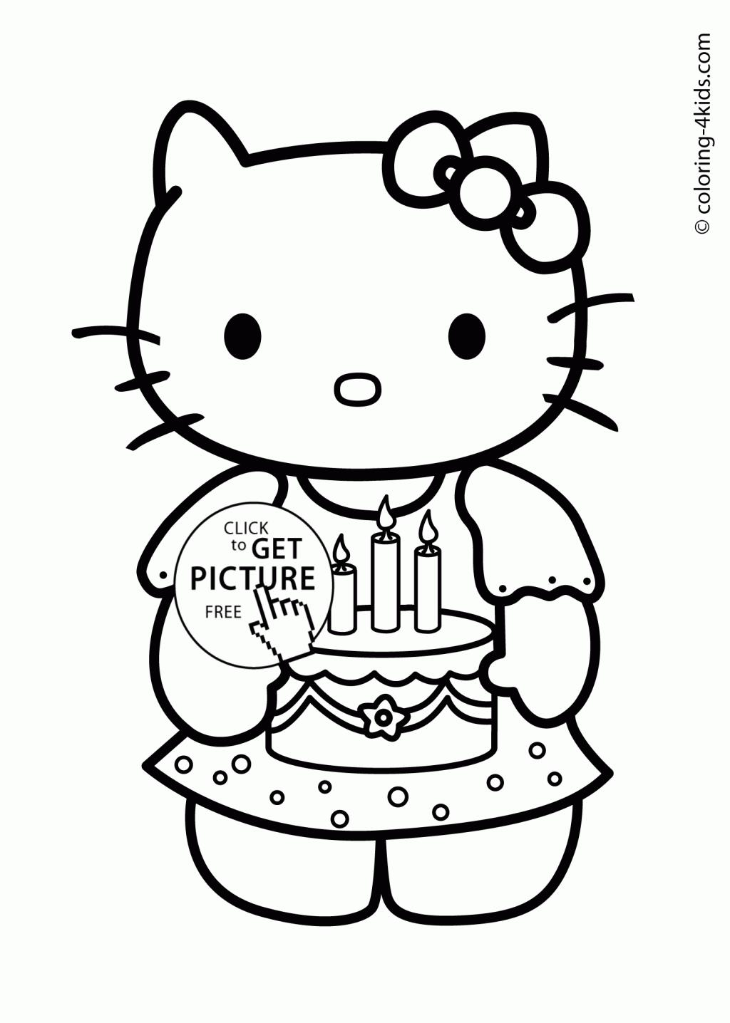 printable birthday coloring pages for kids ; birthday-coloring-pages-book-and-hello-kitty-lapes-org-extraordinary-kids-happy-1024x1436