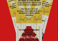 red carpet birthday invitation wording ; best-of-hollywood-themed-invitations-ticket-style-birthday-invitation-diy-printable-by-simply-235x165