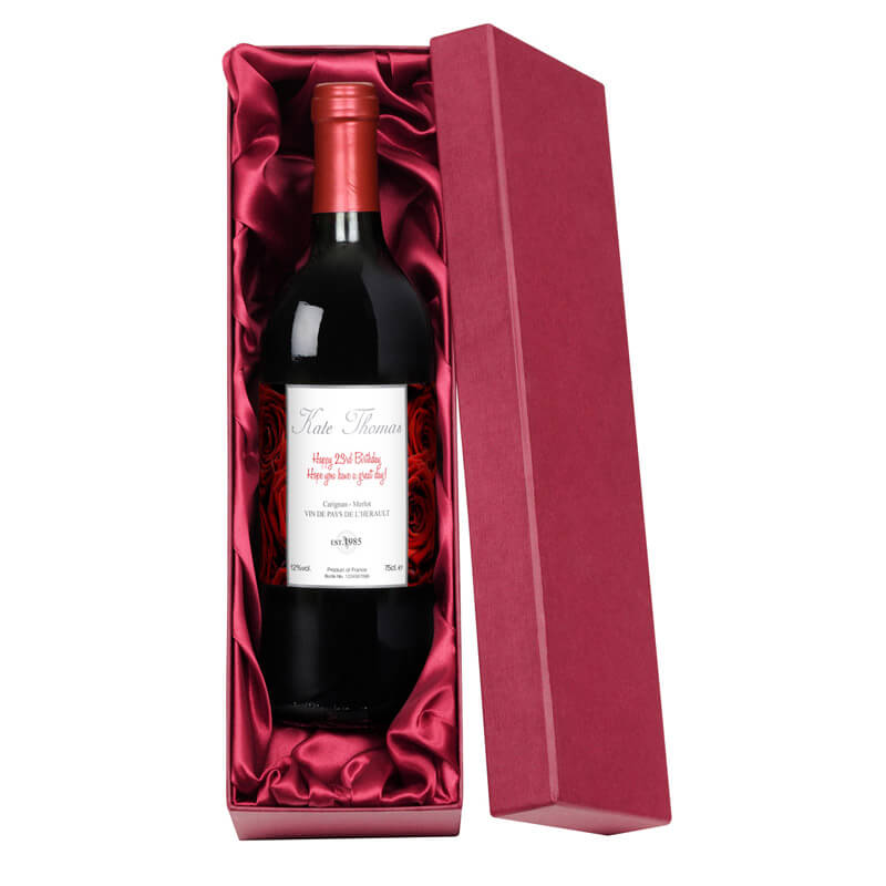 red wine for birthday gift ; 7535