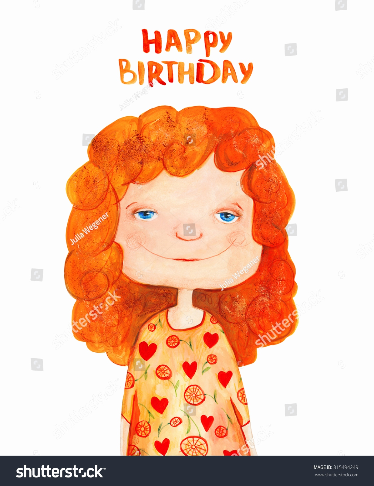 redhead birthday card ; redhead-birthday-card-awesome-royalty-free-girl-with-red-curly-hair-happy-stock-of-redhead-birthday-card