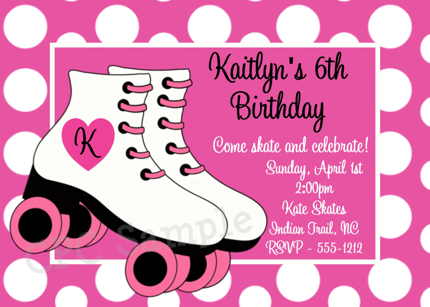 roller skating birthday party invitation template ; Surprising-Roller-Skating-Party-Invitations-Which-Can-Be-Used-As-Party-Invites