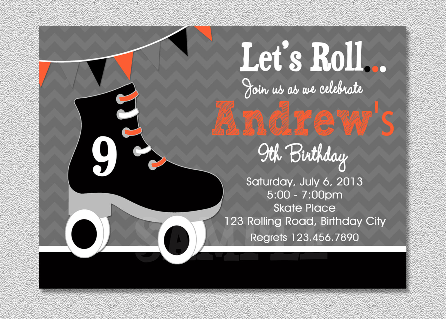 roller skating birthday party invitation template ; roller-skating-birthday-party-invitations-with-some-fantastic-invitations-using-easy-on-the-eye-layout-of-Party-Invitation-Templates-4