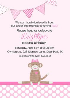 second birthday invitation wording ideas ; 2nd-birthday-invitation-wording-in-support-of-invitations-your-Birthday-Invitation-Templates-with-appealing-ornaments-18