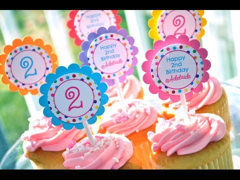 second birthday theme for girl ; 2nd-birthday-party-ideas-on-a-budget