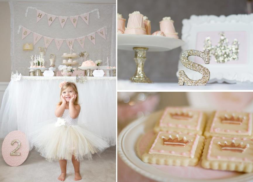 second birthday theme for girl ; Once-Upon-a-Time-2nd-birthday-party-planning-via-Karas-Party-Ideas-www