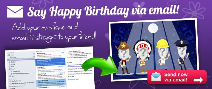 Send A Birthday Card By Email For Free
