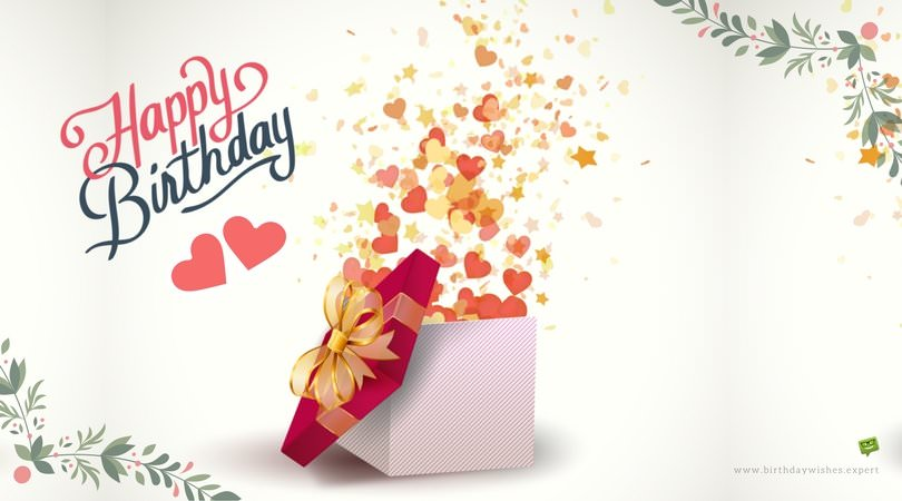send a birthday message messenger ; Happy-Birthday-hearts-from-exploding-box