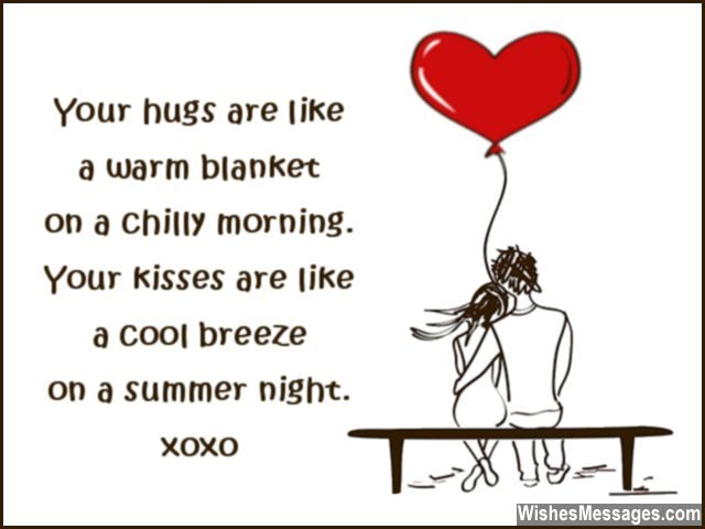 short birthday message for boyfriend ; Cute-quote-for-boyfriend-hugs-and-kisses-640x480