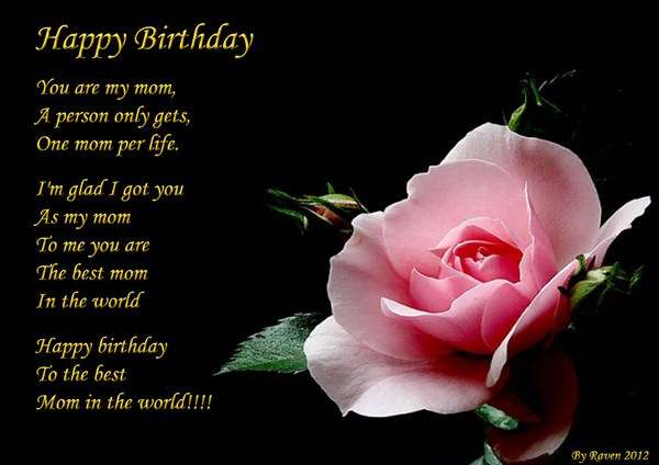 short poem for mom on her birthday ; happy-birthday-for-mothers