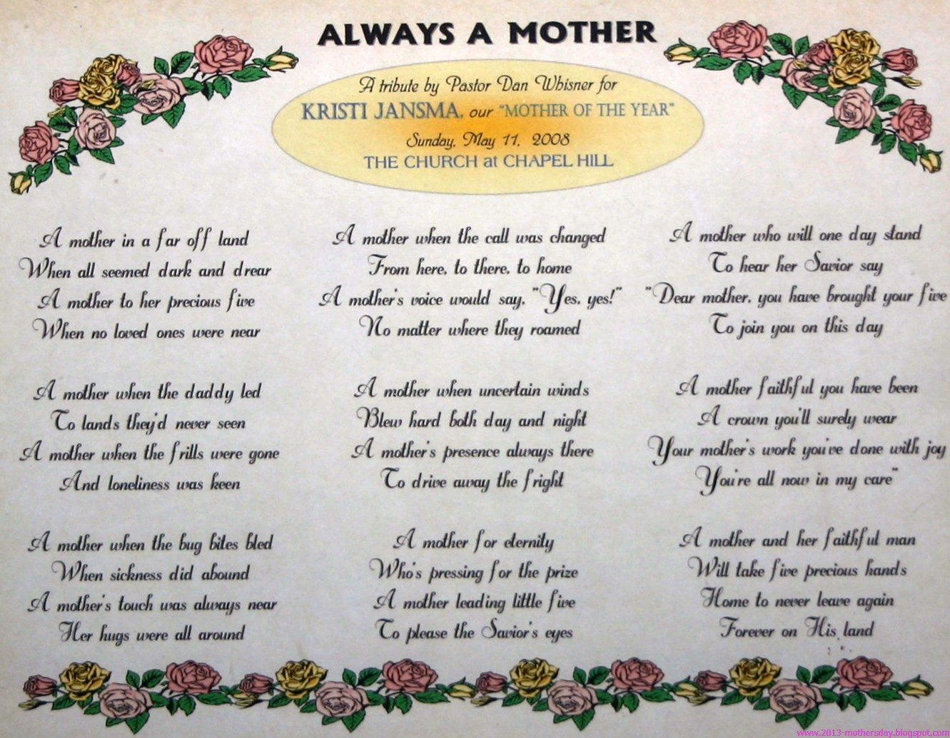 short poem for mom on her birthday ; mothers-day-poems+(2)
