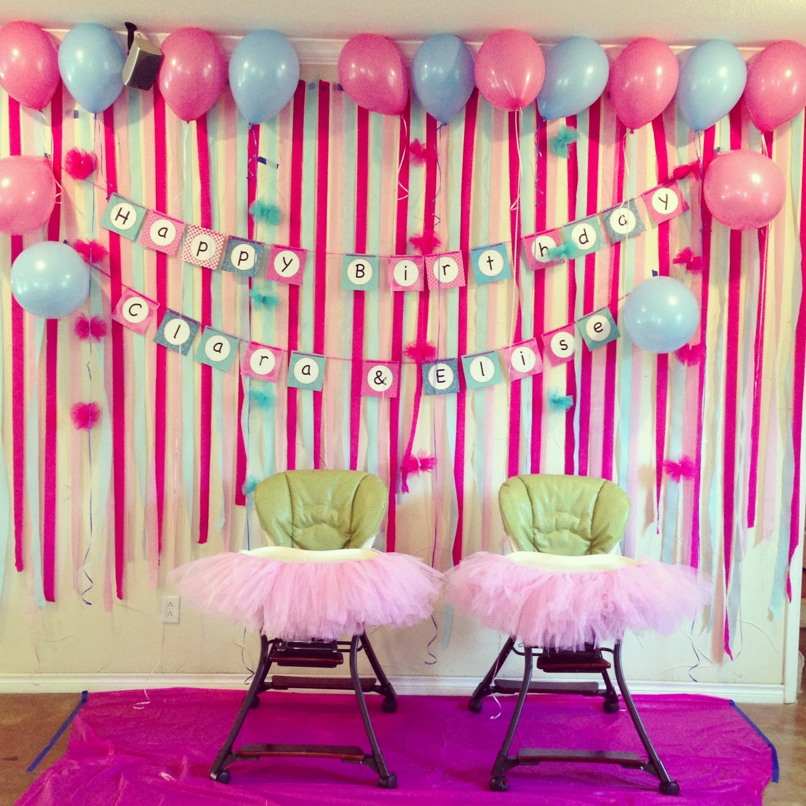 simple birthday decoration ; 1st-birthday-party-decorations-at-home-decoration-ideas-clipgoo-throughout-simple-birthday-decoration-for-kids-at-home