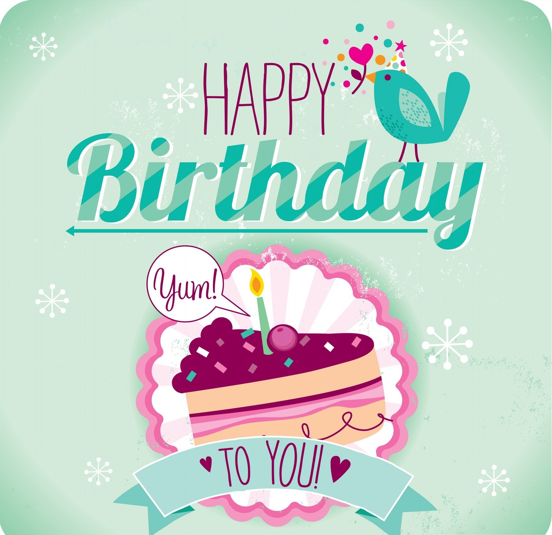 simple happy birthday wishes ; Birthday-wishes-Card