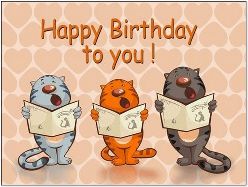 sing happy birthday to you ; cats-singing-happy-birthday-to-you
