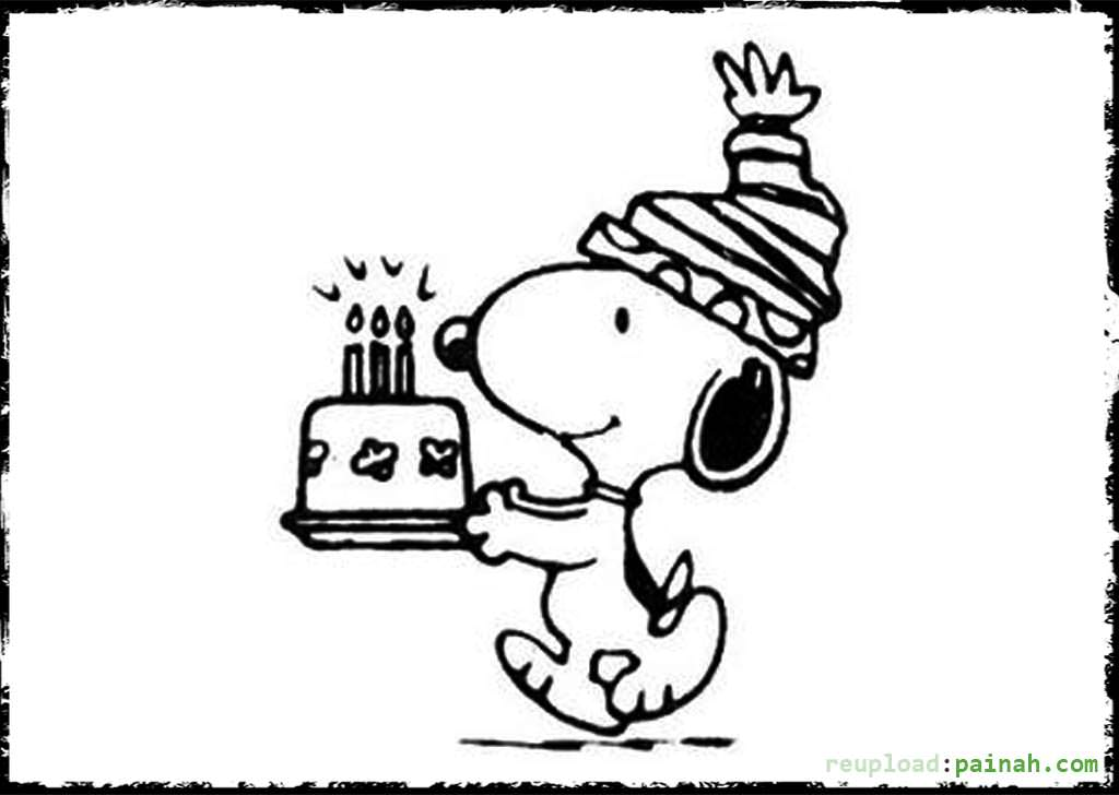 snoopy birthday coloring pages ; peanuts-coloring-pages-snoopy-coloring-pages-happy-birthday-happy-birthday-coloring