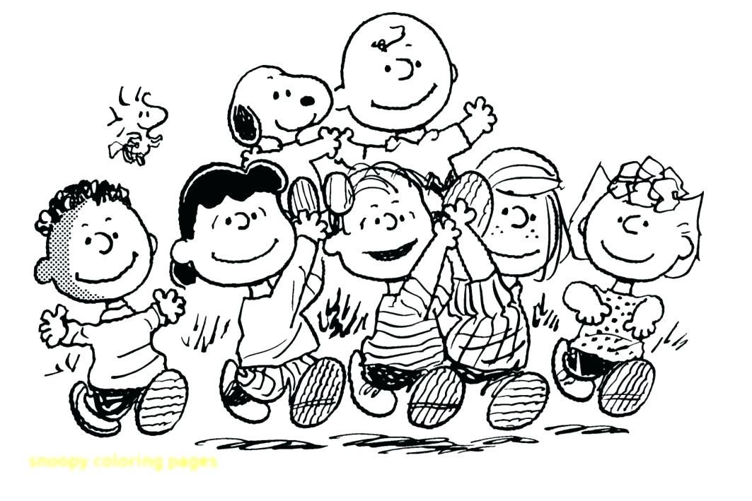 snoopy birthday coloring pages ; snoopy-color-page-snoopy-coloring-pages-with-all-character-free-printable-snoopy-happy-birthday-coloring-pages