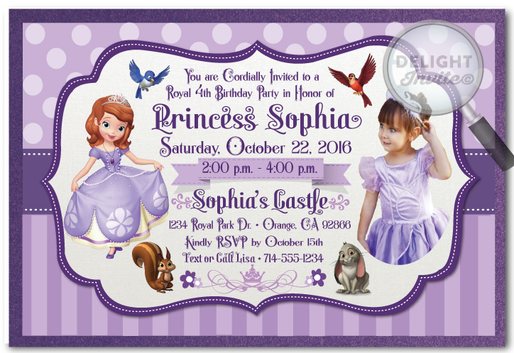 sofia the first birthday background ; sofia_the_1st_photo_invitations