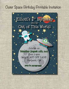 space birthday party invitation wording ; 190ff3df569955fcda5f28c27543074d--alien-party-moon-party
