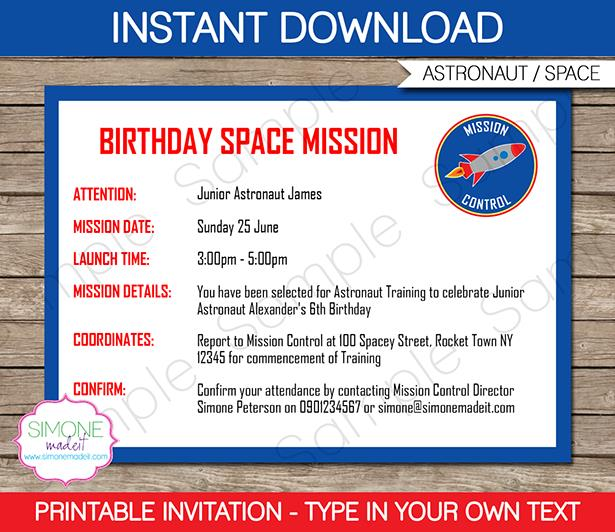 space birthday party invitation wording ; space-party-invitations-template-space-birthday-party-space-birthday-party-invitations