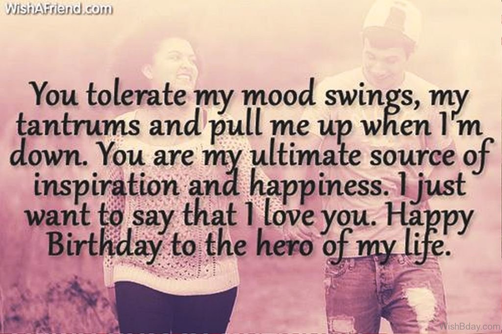 special birthday message for my boyfriend ; Happy-Birthday-To-The-Hero-Of-My-Life