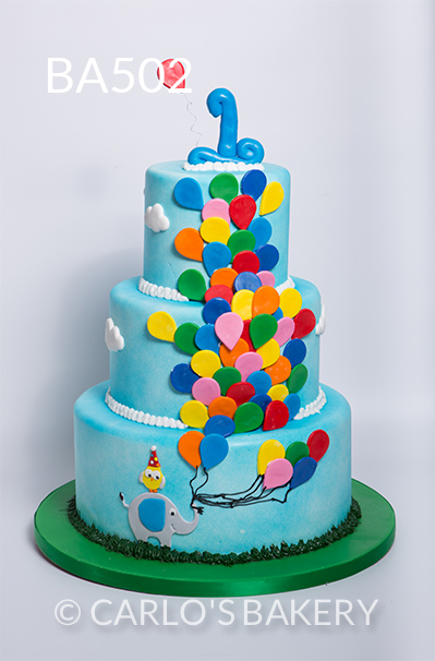 specialty birthday cakes photo gallery ; BA502