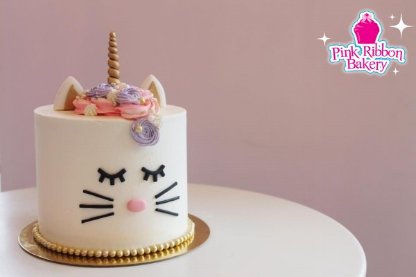 specialty birthday cakes photo gallery ; cat-unicorn-cake