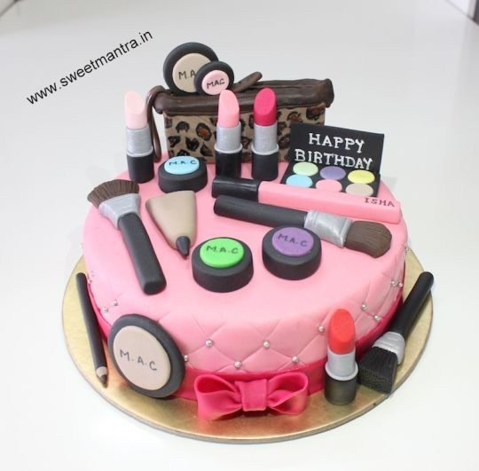 specialty birthday cakes photo gallery ; makeup-overload-theme-small-personalized-fondant-3d-birthday-cake-personalized-birthday-cake-images