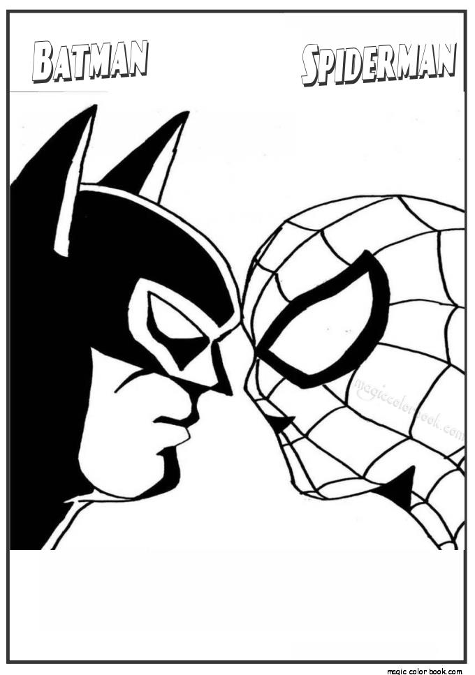 spiderman birthday coloring pages ; batman-spiderman-coloring-pages-spiderman-and-batman-coloring-pages