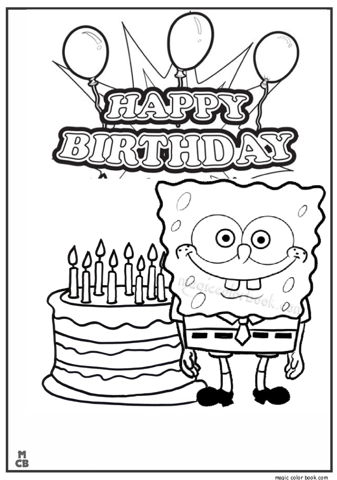spiderman birthday coloring pages ; spiderman-happy-birthday-coloring-pages-happy-birthday-sponge-bob-coloring-page