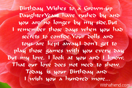spiritual birthday message for daughter ; 2020-daughter-birthday-poems