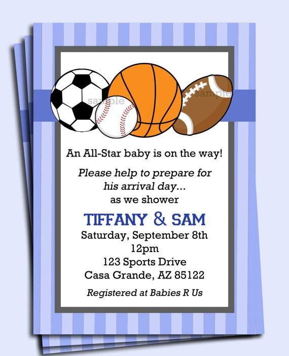 sports birthday party invitation template ; Astounding-Sports-Themed-Birthday-Invitations-As-Custom-Birthday-Invitations