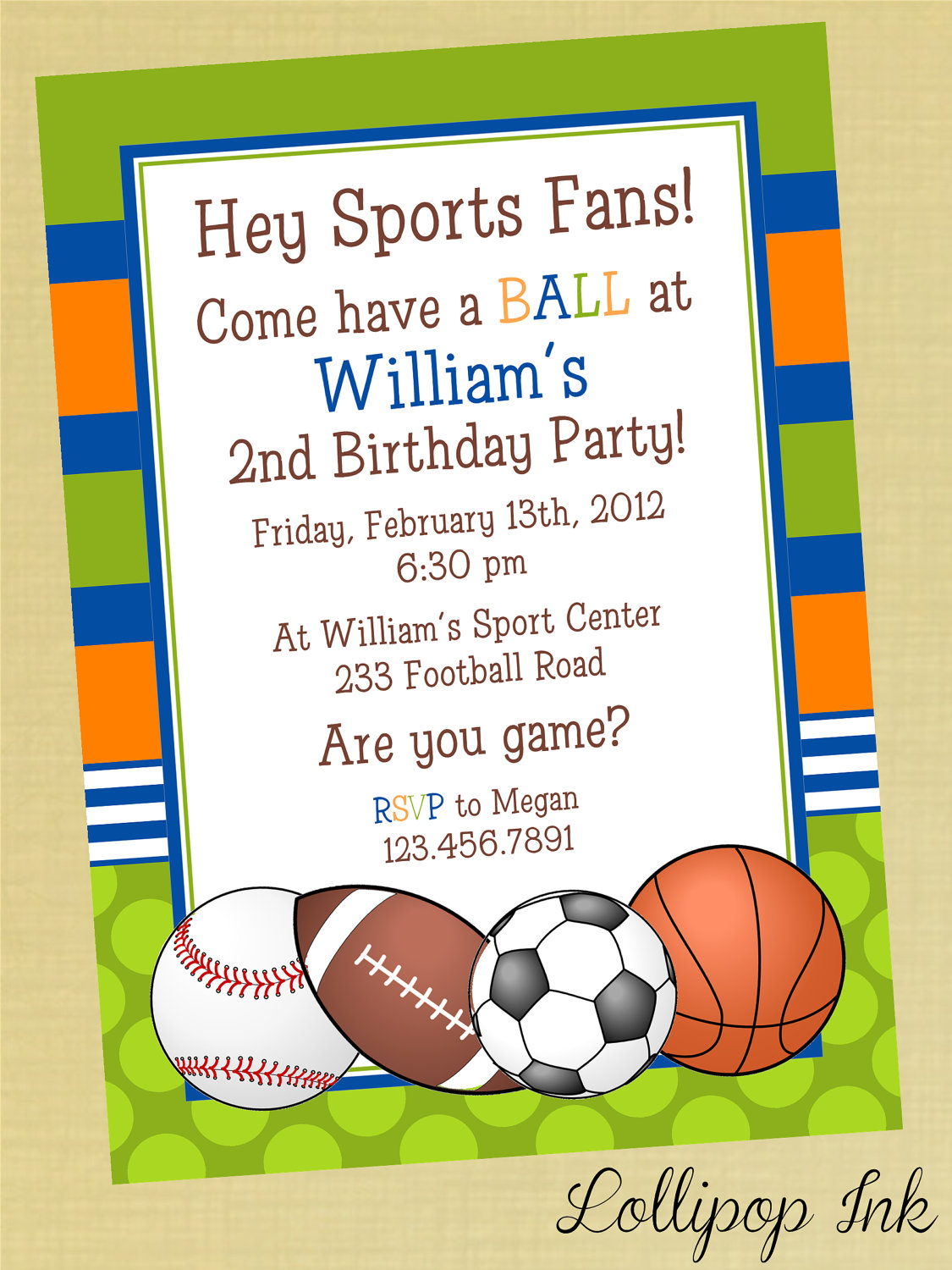 sports birthday party invitation template ; Attractive-Sports-Birthday-Invitations-Which-You-Need-To-Make-Birthday-Party-Invitation-Template