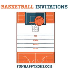 sports birthday party invitation template ; e3af654445cefa7f0628e95902652b40--free-printable-basketball-party-basketball-themed-party