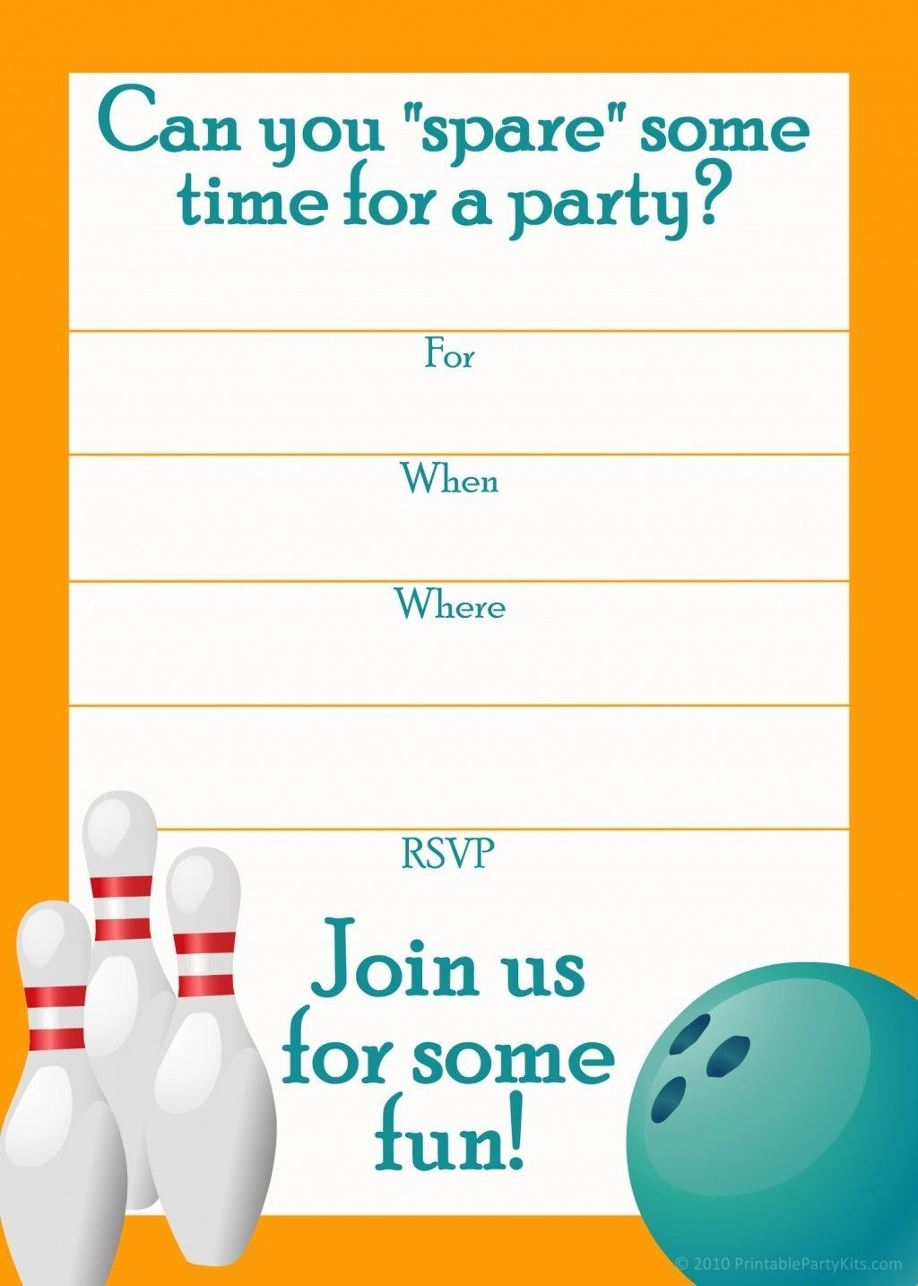 sports birthday party invitation template ; free-printable-sports-birthday-party-invitations-templates-party-in-bowling-birthday-party-invitation-template