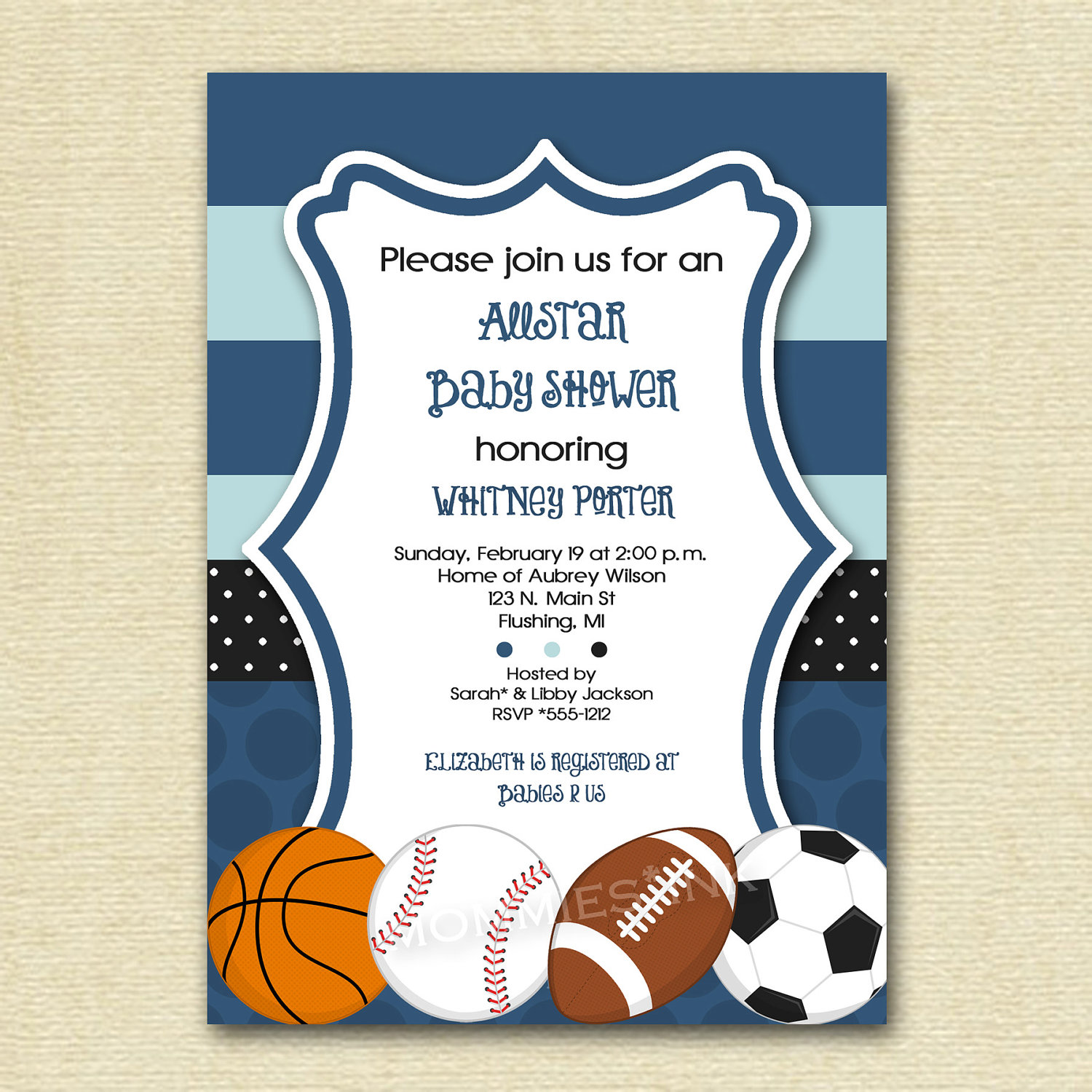 sports birthday party invitation template ; sports-baby-shower-invitations-as-terrific-Baby-Shower-invitation-template-designs-for-you-11120164