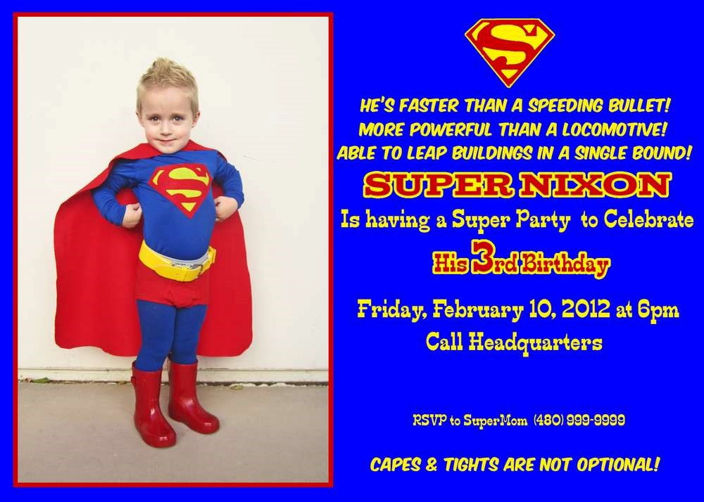 superman birthday invitation template ; Astonishing-Superman-Birthday-Invitations-Which-You-Need-To-Make-Free-Birthday-Invitation-Templates