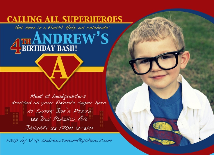superman birthday invitation template ; Surprising-Superman-Birthday-Invitations-For-Additional-Free-Birthday-Invitation-Templates