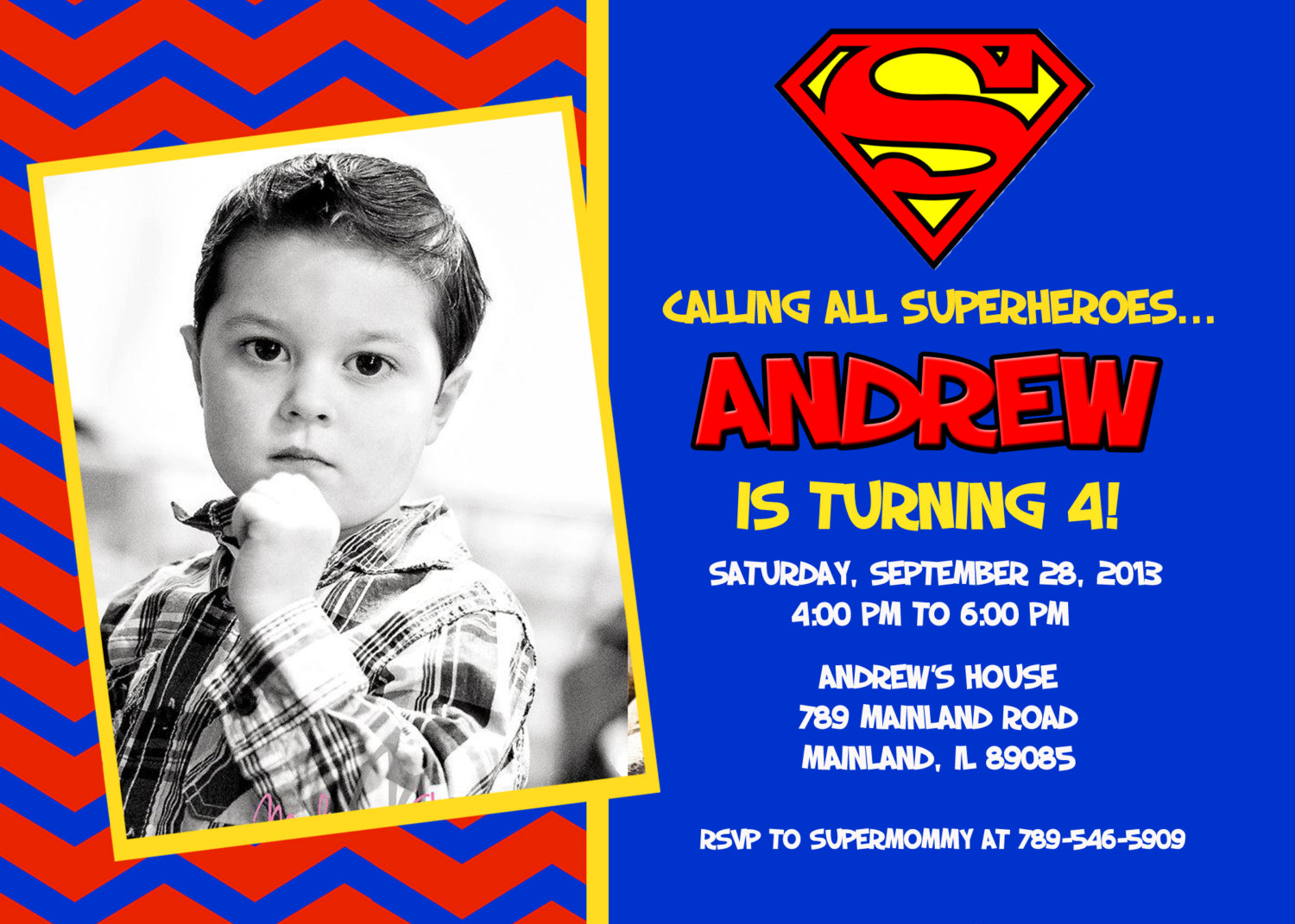superman birthday invitation template ; superman-birthday-invitations-for-the-good-Birthday-Invitation-you-can-choose-4