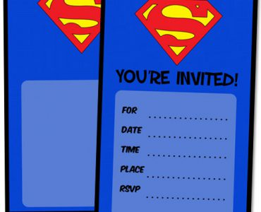 superman birthday invitation template ; superman-birthday-invitations-with-some-beautification-for-your-Birthday-Invitation-Templates-to-serve-foxy-environment-18-370x300