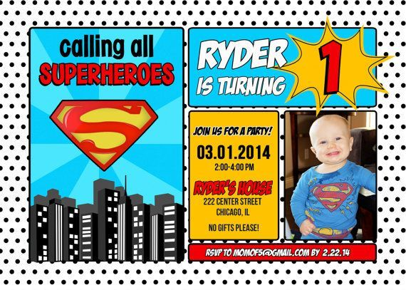 superman birthday invitation template ; superman-birthday-invitations-with-some-fantastic-invitations-using-exquisite-layout-of-Birthday-Invitation-Templates-3