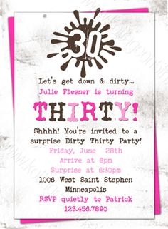 surprise 30th birthday party invitation wording ; 30th-birthday-party-invitation-wording-is-the-newest-and-best-concepts-of-easy-on-the-eye-Party-invitations-17