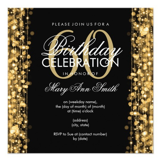 Surprise 60th Birthday Invitation Templates Free Cool 60Th Invitations To